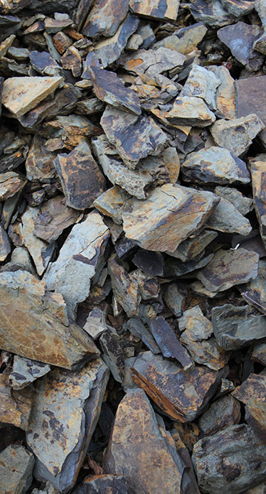 Blue schist terroir in Laurens